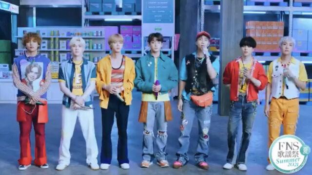 BTS FNS歌謡祭
