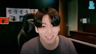 BTS 9月1日のジョングクの誕生日・V LIVE生配信の視聴方法