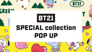 BT21「SPECIAL collection POP UP」が期間限定で梅田ロフトに登場!