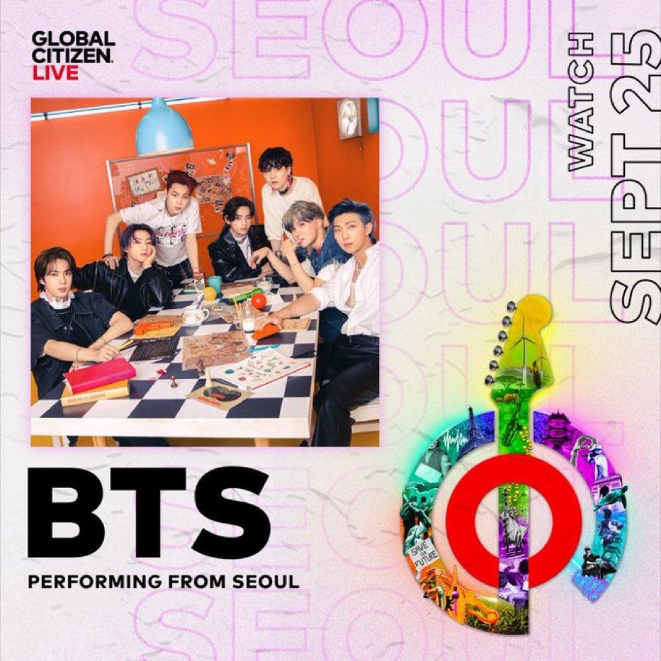 BTS 世界的生中継イベント「Global Citizen LIVE」に出演!- 視聴方法