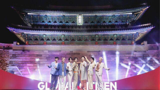 BTS「2021 Global Citizen LIVE」国宝の崇礼門を舞台にオープニング
