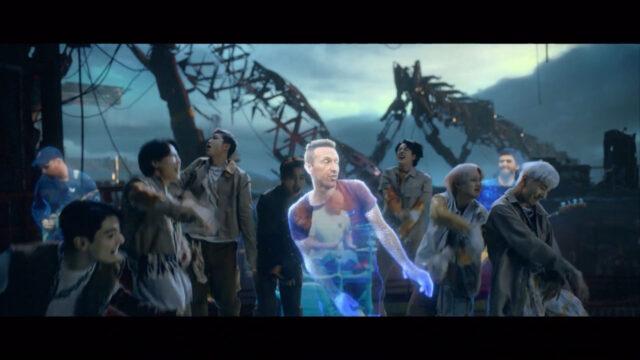 BTS × Coldplay「My Universe」英オフィシャルチャート初登場3位