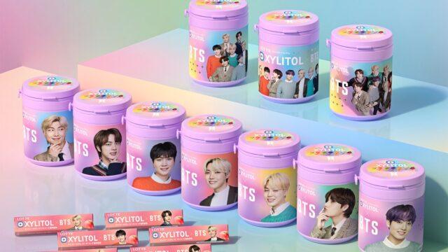ロッテ キシリトールガム BTS Smileボトルが発売 - 詳細 特典