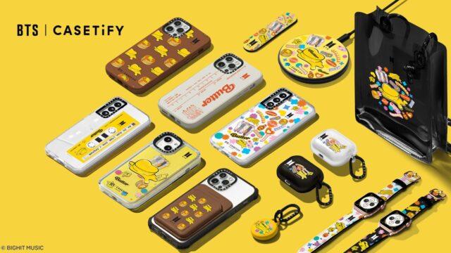 BTS×CASETiFY Butter スマホケースが発売 - 詳細・購入方法